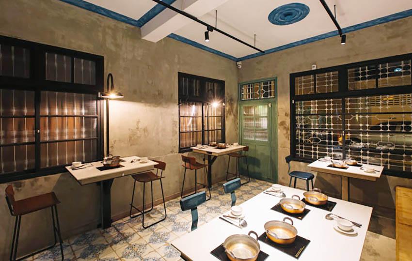 火锅店设计,商业空间,餐饮空间,工业风,建筑改造